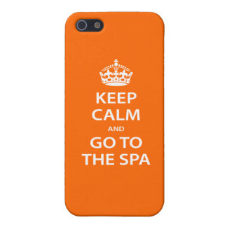 Keep Calm and Go To the Spa iPhone 5 Covers