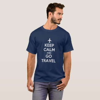Keep Calm and Go Travel Men's T-Shirt