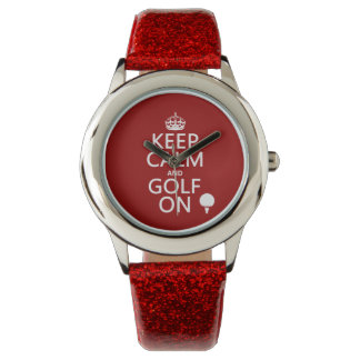 Keep Calm and Golf On - available in all colors Watch