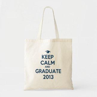 Keep Calm And Graduate 2013 Bags