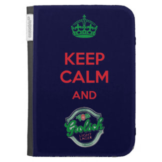 Keep Calm and Grolsch Caseable Case Kindle Cover