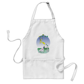 keep calm and grounded, tony fernandes standard apron