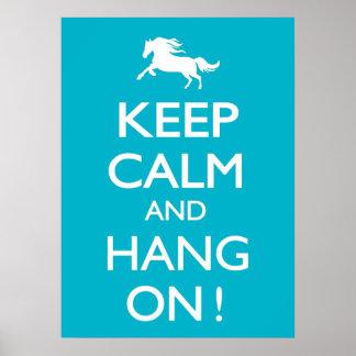 Keep Calm and Hang On! Poster
