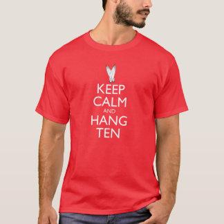 Keep Calm and Hang Ten Men's T-Shirt