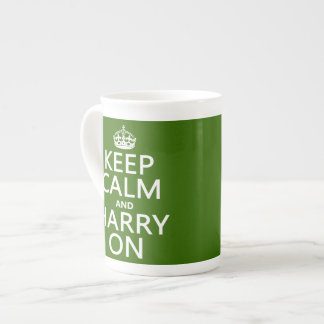 Keep Calm and Harry On (any color) Tea Cup