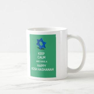Keep calm and have a Happy Rosh Hashanah Mug