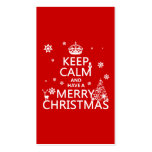 Keep Calm and Have A Merry Christmas (change
