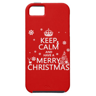 Keep Calm and Have A Merry Christmas (change color iPhone 5 Case
