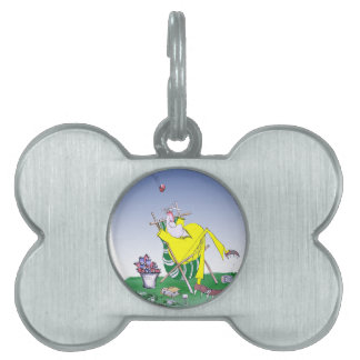 keep calm and have a snooze, tony fernandes pet ID tags