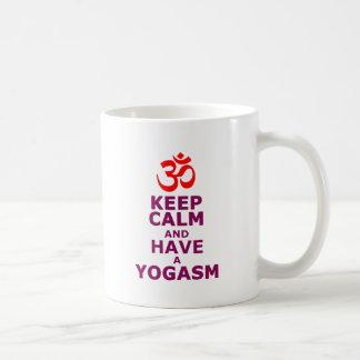 Keep calm and have a yoga sm mugs
