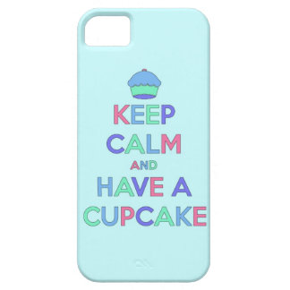keep calm and have cupcake bake bakery pastry food iPhone 5 covers
