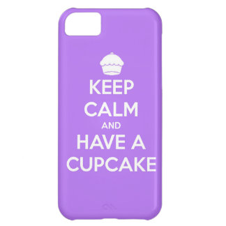 keep calm and have cupcake bake bakery pastry food iPhone 5C cases