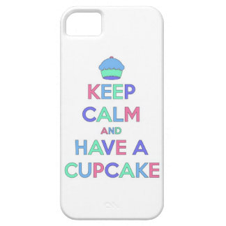 keep calm and have cupcake bake bakery pastry food iPhone 5 case
