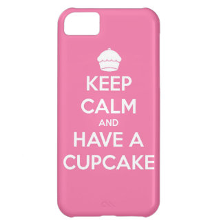 keep calm and have cupcake bake bakery pastry food iPhone 5C case