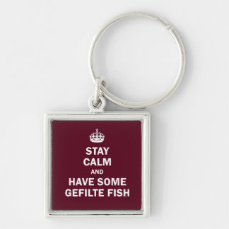 Keep calm and have some Gefilte Fish Key Ring