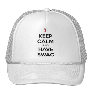 KEEP CALM AND HAVE SWAG Snapback - F&H Hats
