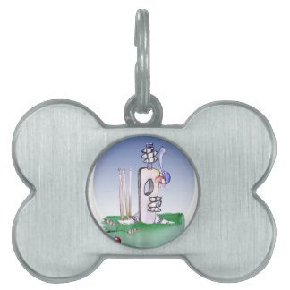 keep calm and hide the fear, tony fernandes pet ID tags