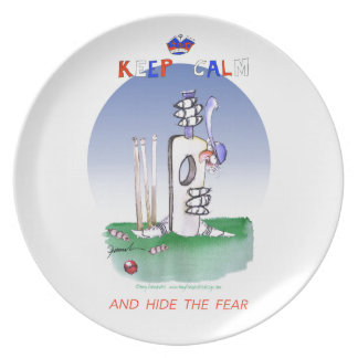 keep calm and hide the fear, tony fernandes plate