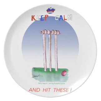 keep calm and hit these, tony fernandes plate