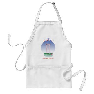 keep calm and hit these, tony fernandes standard apron