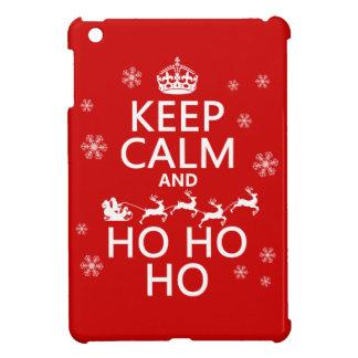 Keep Calm and Ho Ho Ho Cover For The iPad Mini