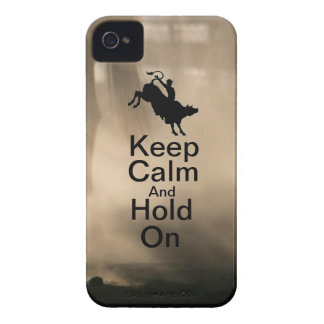 Keep Calm and Hold On Bull Riding case
