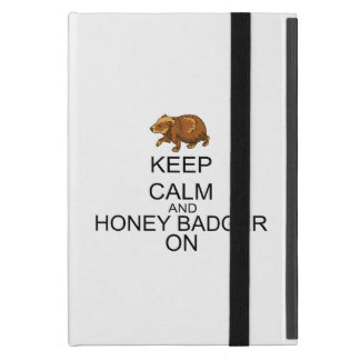 Keep Calm And Honey Badger On Covers For iPad Mini