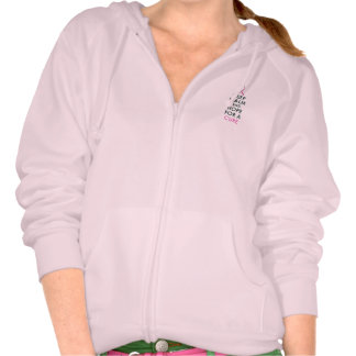 Keep Calm and Hope for a Cure Breast Cancer Hoodie