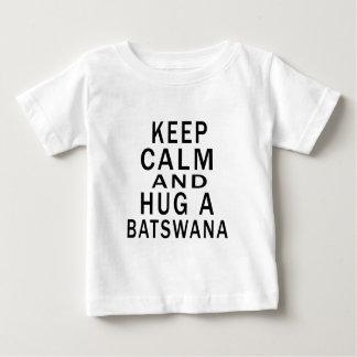 Keep Calm And Hug A Batswana Shirt