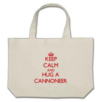 Keep Calm and Hug a Cannoneer Bag