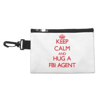 Keep Calm and Hug a Fbi Agent Accessory Bag