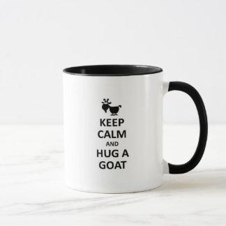 Keep calm and hug a Goat