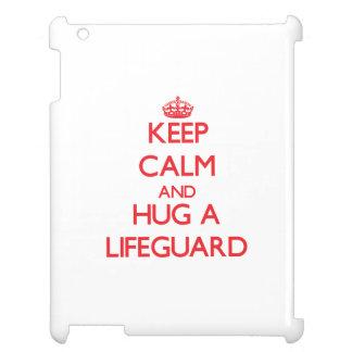 Keep Calm and Hug a Lifeguard Cover For The iPad