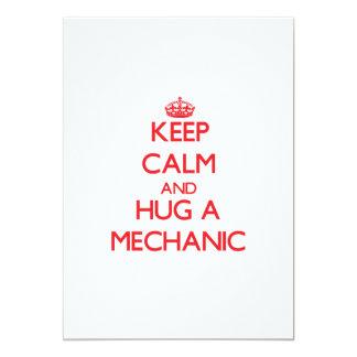 Keep Calm and Hug a Mechanic Custom Announcements