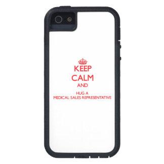 Keep Calm and Hug a Medical Sales Representative iPhone 5 Covers