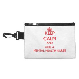 Keep Calm and Hug a Mental Health Nurse Accessory Bag