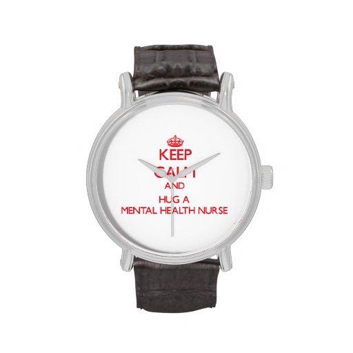Keep Calm and Hug a Mental Health Nurse Watch