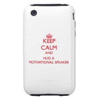Keep Calm and Hug a Motivational Speaker iPhone 3 Tough Case