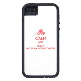 Keep Calm and Hug a Network Administrator iPhone 5 Cover