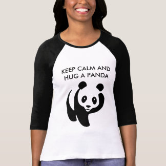 Keep Calm and Hug a Panda T-Shirt