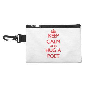 Keep Calm and Hug a Poet Accessories Bag