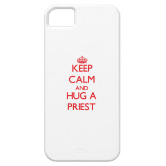 Keep Calm and Hug a Priest iPhone 5 Covers