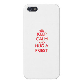 Keep Calm and Hug a Priest iPhone 5/5S Case