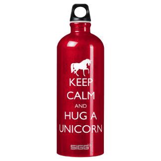 Keep Calm and Hug a Unicorn SIGG Traveller 1.0L Water Bottle