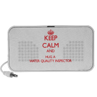 Keep Calm and Hug a Water Quality Inspector Mini Speakers