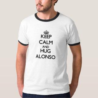 Keep Calm and Hug Alonso T Shirts