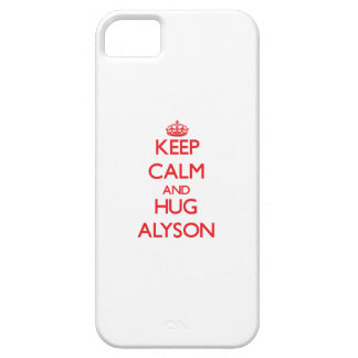 Keep Calm and Hug Alyson Case For The iPhone 5