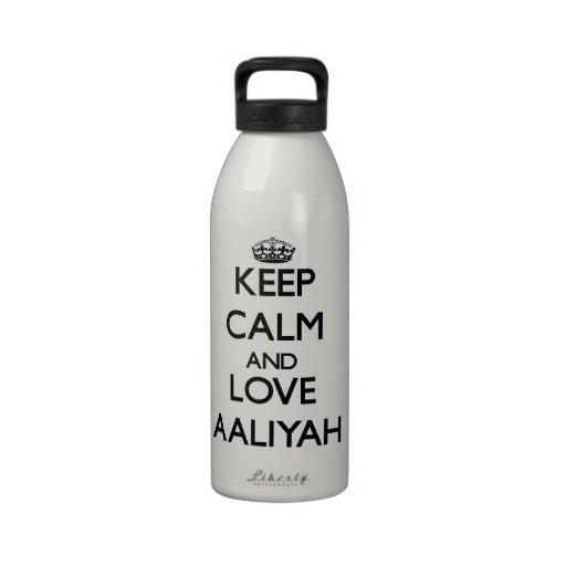 Keep Calm and Hug America Water Bottle