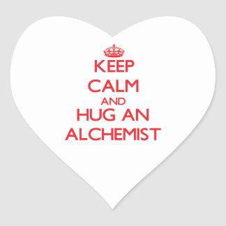 Keep Calm and Hug an Alchemist Sticker