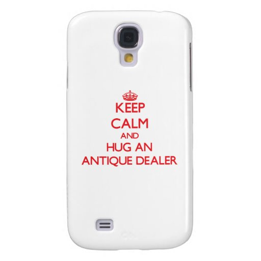 Keep Calm and Hug an Antique Dealer HTC Vivid Covers
